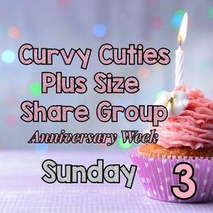 Tops - 2/17 PLUS SHARE GROUP: Curvy Cuties